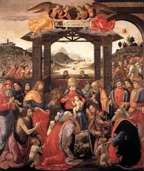 Adoration of the magi 1488 florence